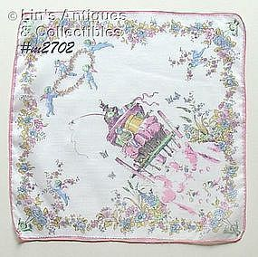 """JUST MARRIED"" HANDKERCHIEF"