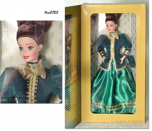 HALLMARK 1996 YULETIDE ROMANCE BARBIE NEVER REMOVED FROM BOX