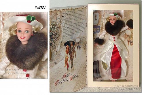 HALLMARK 1995 HOLIDAY MEMORIES BARBIE NEVER REMOVED FROM BOX