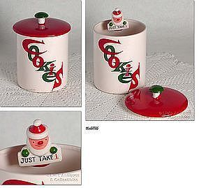HOLT HOWARD CHRISTMAS COOKIE JAR