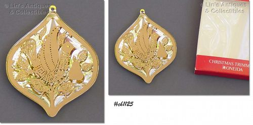 ONEIDA �PARTRIDGE IN A PEAR TREE� ORNAMENT (1978)