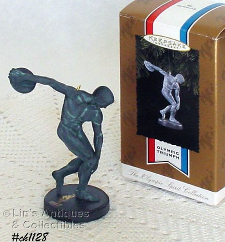 HALLMARK � �OLYMPIC TRIUMPH� ORNAMENT (1996)