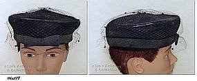 BLACK HAT BY SEARS MILLINERY