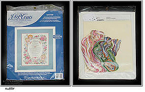 Counted Cross-Stitch �Love is Kind� Sampler Kit (NIP)