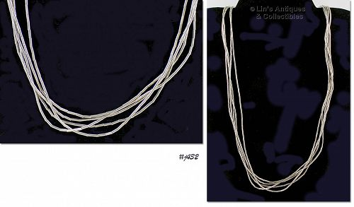 LIQUID SILVER NECKLACE