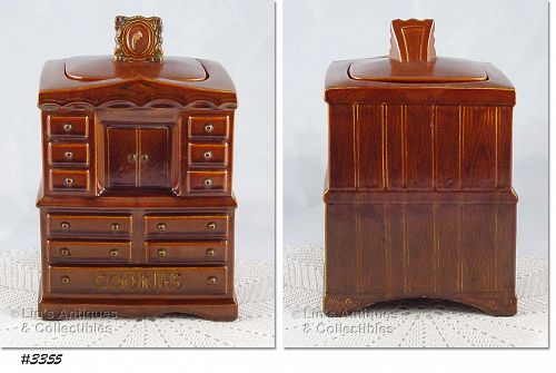 McCOY POTTERY � CHIFFONIER COOKIE JAR