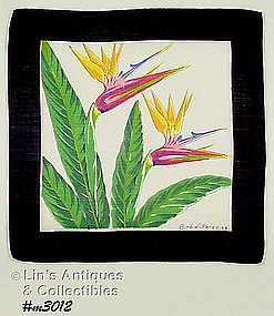 BIRD-OF-PARADISE HANDKERCHIEF