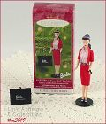 2001 HALLMARK  BARBIE BUSY GAL FASHION ORNAMENT