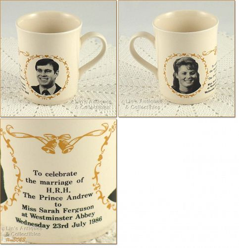 ROYAL WEDDING COMMEMORATIVE CUP