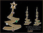 EISENBERG ICE � CHRISTMAS TREE PIN AND EARRINGS