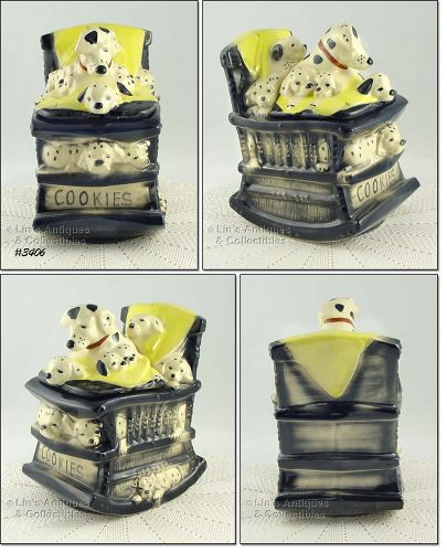 McCOY POTTERY � DALMATIONS COOKIE JAR