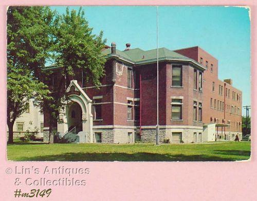CLARK COUNTY HOSPITALVINTAGE POSTCARD 1958