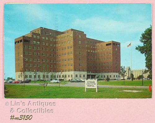 VINTAGE POSTCARD OF V.A. HOSPITAL INDIANAPOLIS INDIANA 1959
