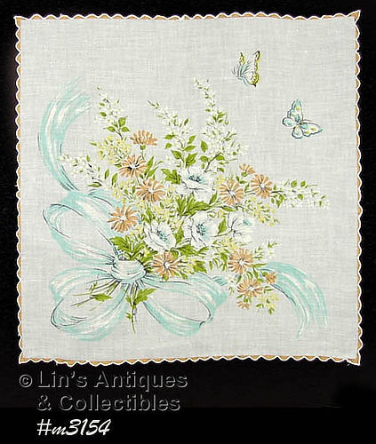 FLORAL BOUQUET HANDKERCHIEF