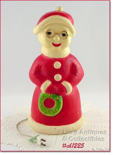 ELECTRIC LIGHTED MRS. SANTA