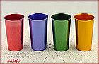 ALUMINUMWARE � 4 BASCAL TUMBLERS (4 ½�)