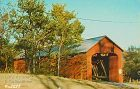 POSTCARD � COVERED BRIDGE, JENNINGS COUNTY, INDIANA