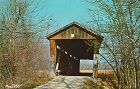 POSTCARD � COVERED BRIDGE, MONROE COUNTY, INDIANA