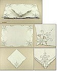 SET OF 8 MADEIRA PLACEMATS AND MATCHING NAPKINS
