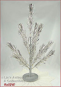 TREASURE PINE 2 FOOT ALUMINUM TREE (W/BOX)