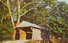 COVERED BRIDGE POSTCARD � VINTON COUNTY #4 COVERED BRIDGE