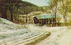 COVERED BRIDGE POSTCARD MORGAN COUNTY #35 COVERED BRIDGE