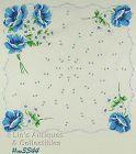 BLUE POPPIES HANDKERCHIEF