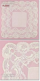 ABSOLUTELY BEAUTIFUL WEDDING HANDKERCHIEF