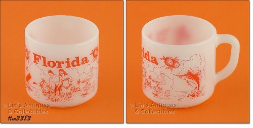 FEDERAL GLASS � FLORIDA SOUVENIR CUP