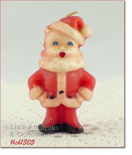 GURLEY � SANTA CANDLE (3�)
