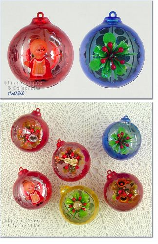 6 JEWEL BRITE ORNAMENTS
