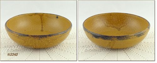 McCOY POTTERY CANYON DINNERWARE VINTAGE SERVING BOWL