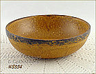 McCOY POTTERY � CANYON SERVING BOWL