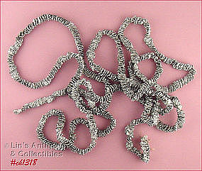 SILVER COLOR FOIL ROPING / GARLAND