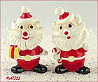 HOLT-HOWARD � SANTA SHAKER SET