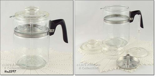 PYREX � 9 CUP COFFEE MAKER/ COFFEE POT