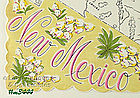 STATE SOUVENIR HANKY FOR NEW MEXICO