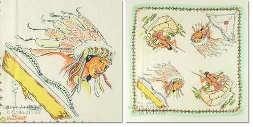NATIVE AMERICANS HANDKERCHIEF