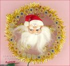 31 LITE SANTA WALL PLAQUE (OR TOPPER)