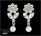 EISENBERG ICE � FLOWER SHAPED EARRINGS (PIERCED)