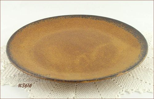 McCOY POTTERY � CANYON CHOP PLATE / PLATTER