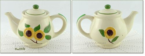 SHAWNEE POTTERY � VINTAGE SUNFLOWER LINE TEAPOT TEA  SERVER