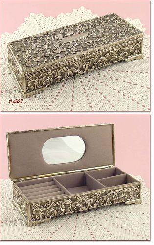 VINTAGE GODINGER JEWELRY BOX