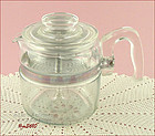PYREX � 4 CUP COFFEE MAKER / COFFEE POT