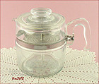 PYREX � 6 CUP COFFEE MAKER / COFFEE POT