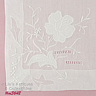 BEAUTIFUL WEDDING HANDKERCHIEF