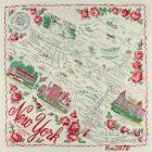 STATE SOUVENIR HANKY, NEW YORK, �THE EMPIRE STATE�