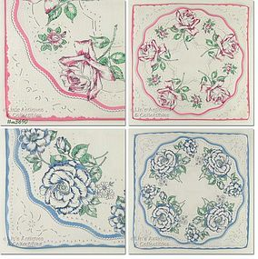 LACE AND ROSES HANDKERCHIEFS (2)