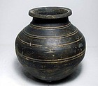 Warring-states period black pot