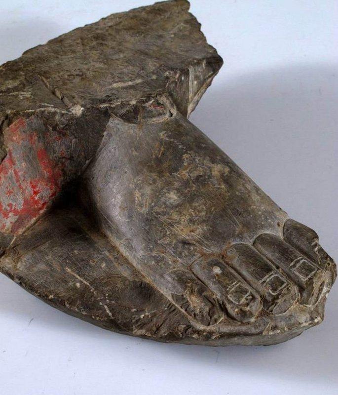 North dynasty buddha foot